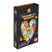 Neón Colouring Set: Glow Friends