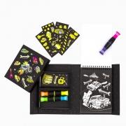 Neón Colouring Set: Road Stars