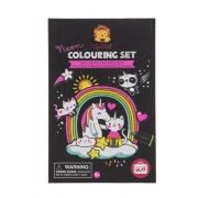 Neón Colouring Set: Unicornios y Amigos