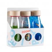 Pack de 3 Botellas Sensoriales Eco