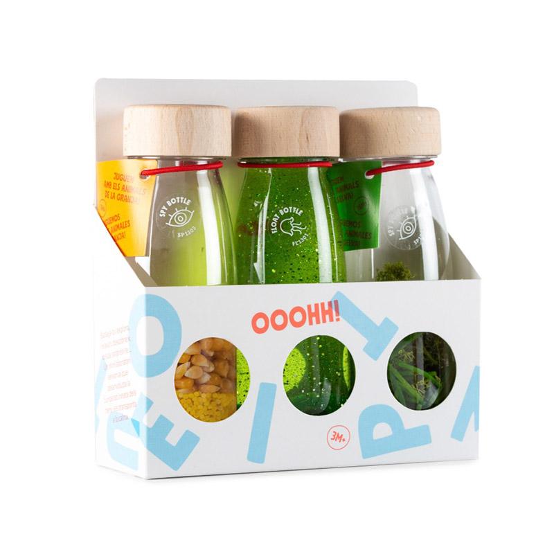 Pack de 3 Botellas Sensoriales Life