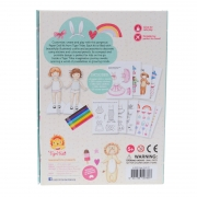 Paper Dolls Kit: Muñecas Recortables Vintage