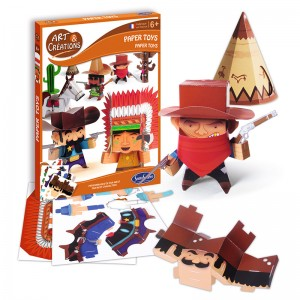 Paper Toys Far West