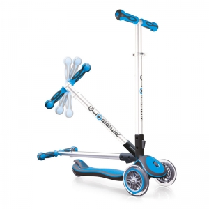 Patinete Plegable Azul: Serie Elite
