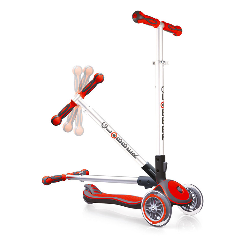 Patinete Plegable Rojo: Serie Elite
