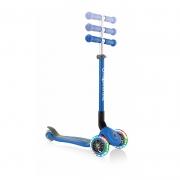 Patinete Primo Azul Plegable y con Luces