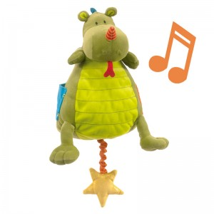 Peluche Musical Walter el Dragón