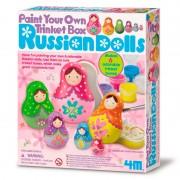 Pinta tus Cajitas de Muñecas Rusas