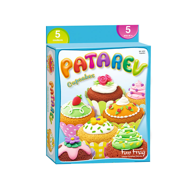 Plastilina Patarev Cupcakes