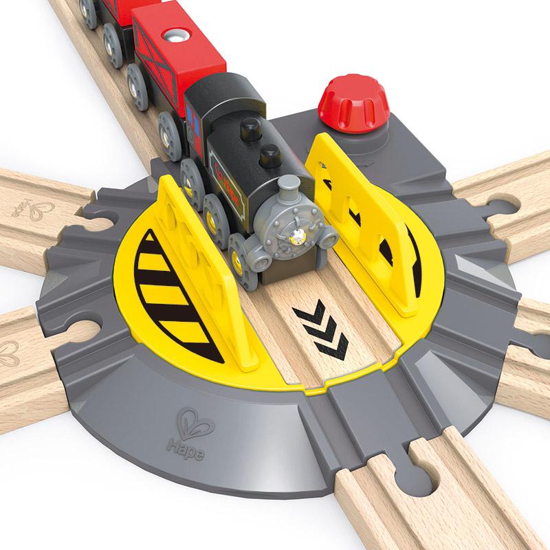Plataforma Giratoria para Trenes