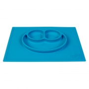 Plato Happy Mat: Azul