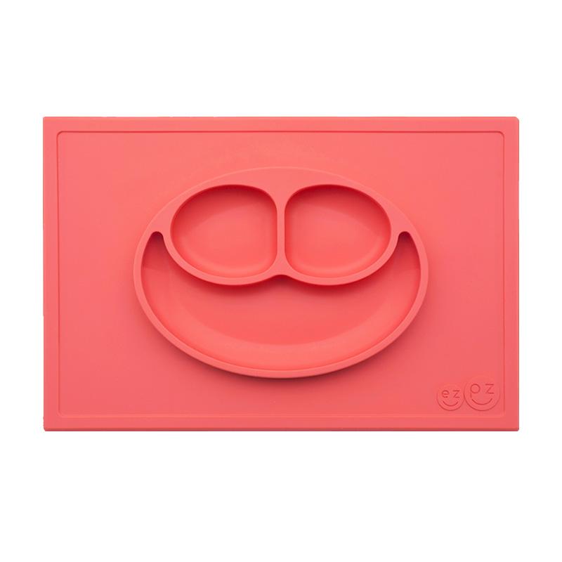 Plato Happy Mat: Coral