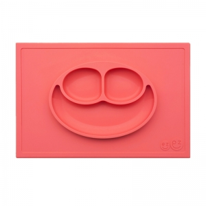 Plato Happy Mat: Coral