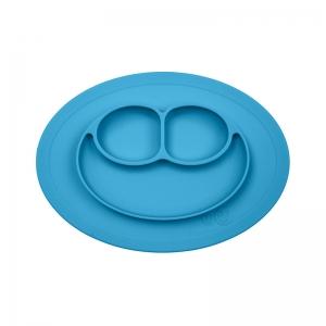 Plato Mini Mat: Azul
