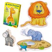 Primeros Puzzles: El Zoo