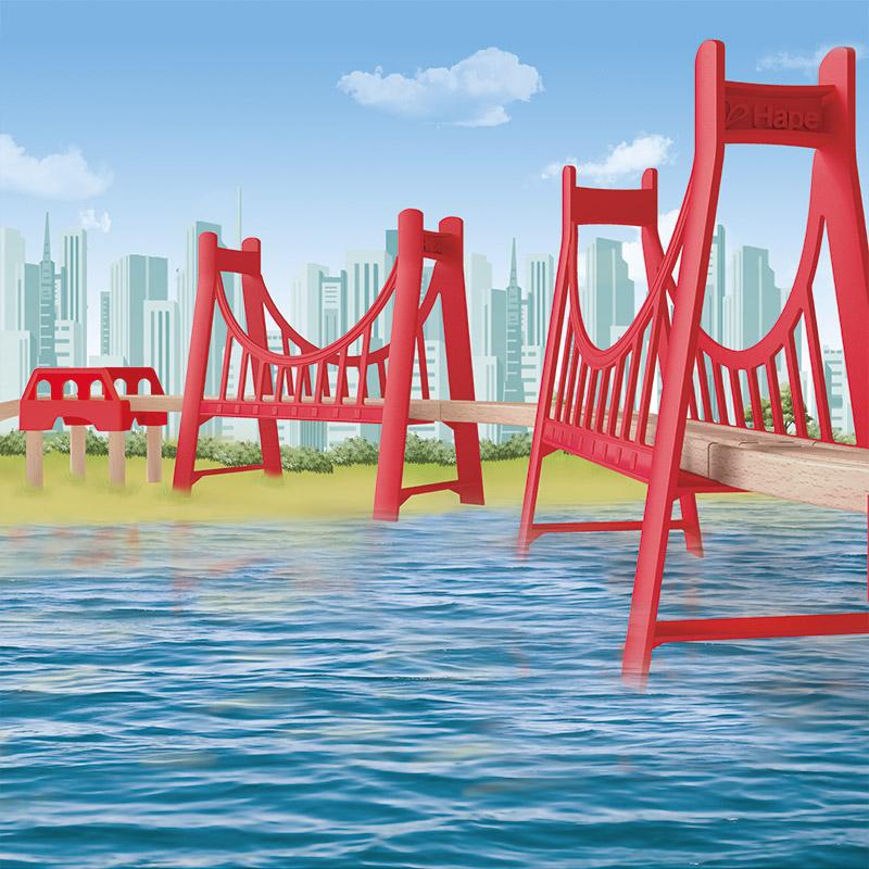 Puente Doble en Suspensión
