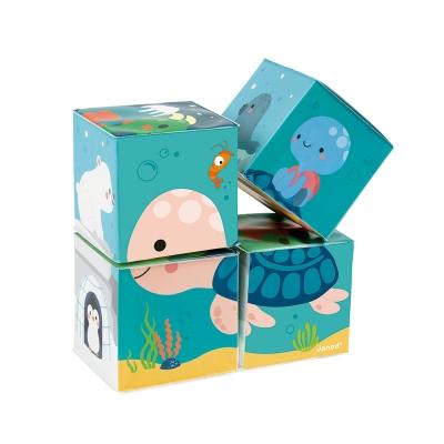 Puzzle 4 Cubos de Baño