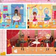 Puzzle Academia de Danza: 100 piezas