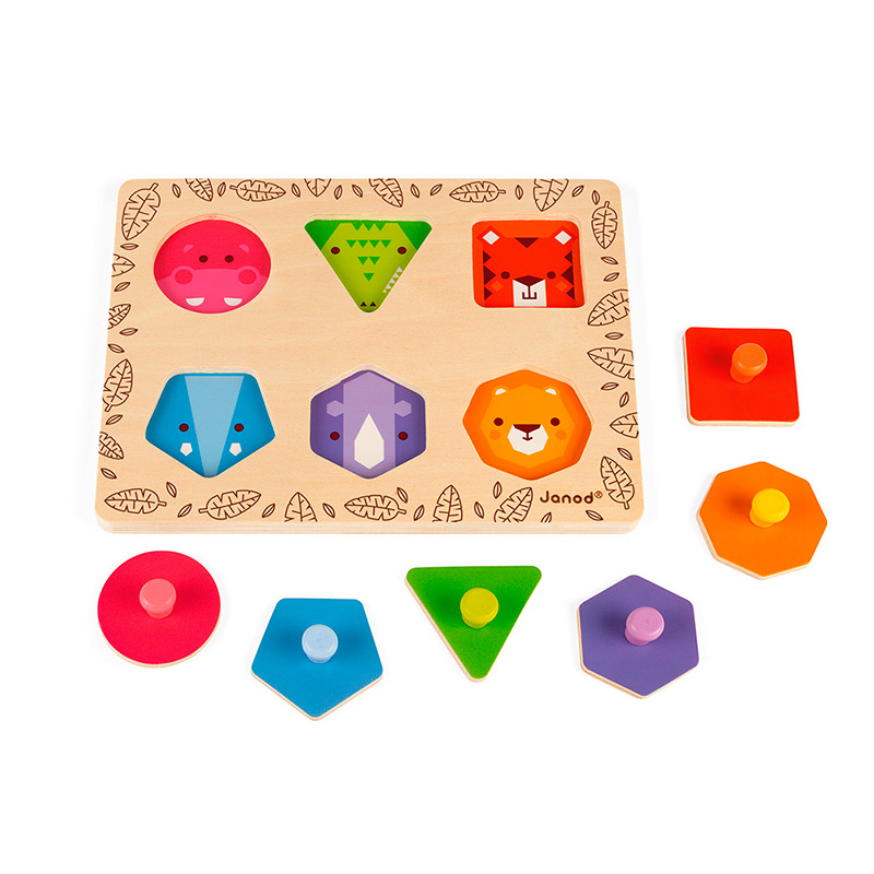 Puzzle Aprendo las Formas Geométricas