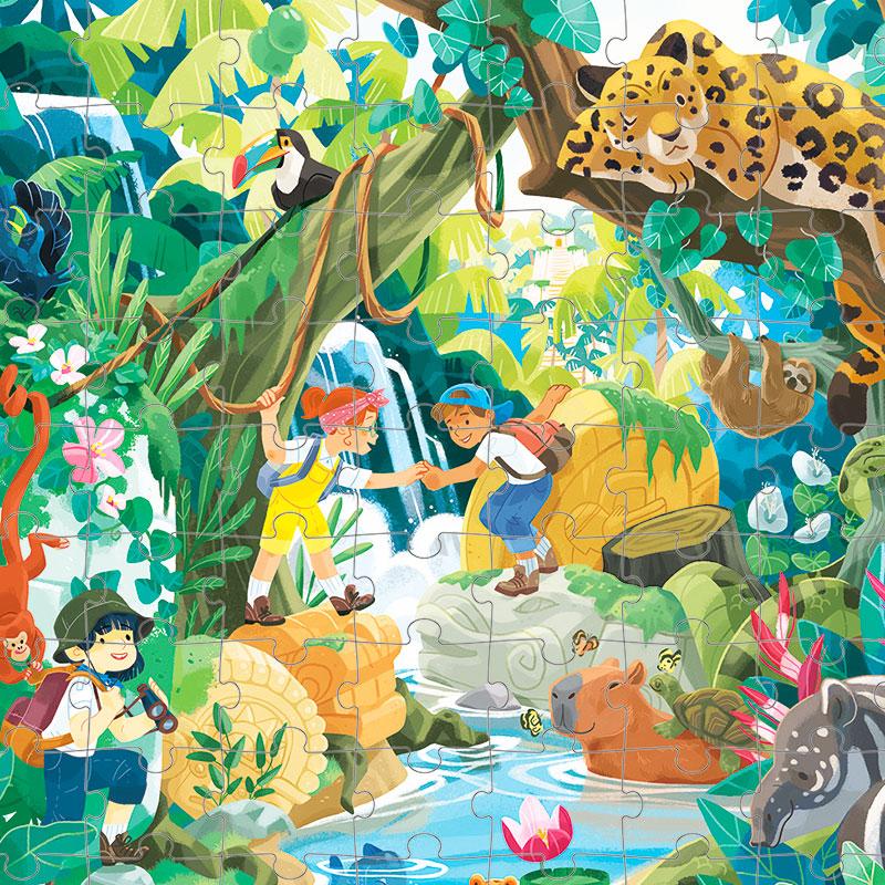 Puzzle Aventura Inca: 100 piezas