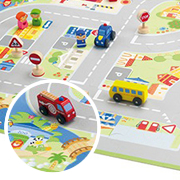 Puzzle Ciudad en Miniatura