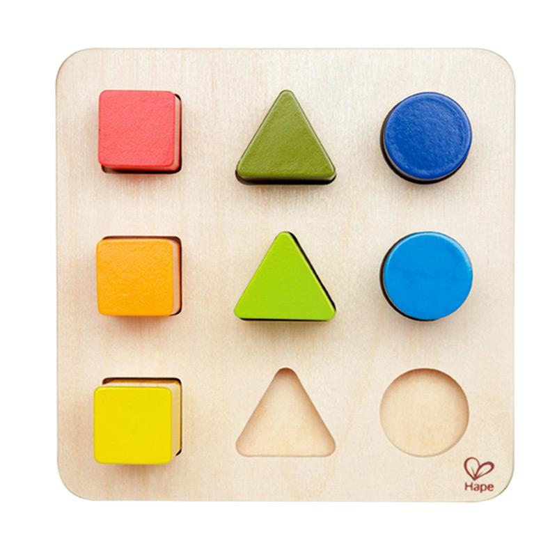 Puzzle Clasificador Formas y Colores