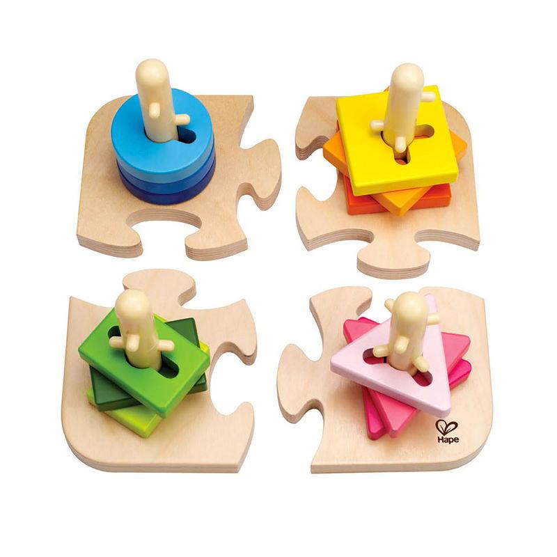 Puzzle Creativo de Clavijas
