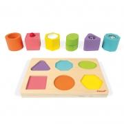 Puzzle de 6 Cubos Sensoriales