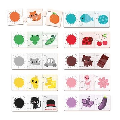 Puzzle de Colores Tricolor