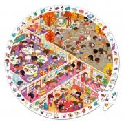 Puzzle de Observación la Escuela: 208 piezas