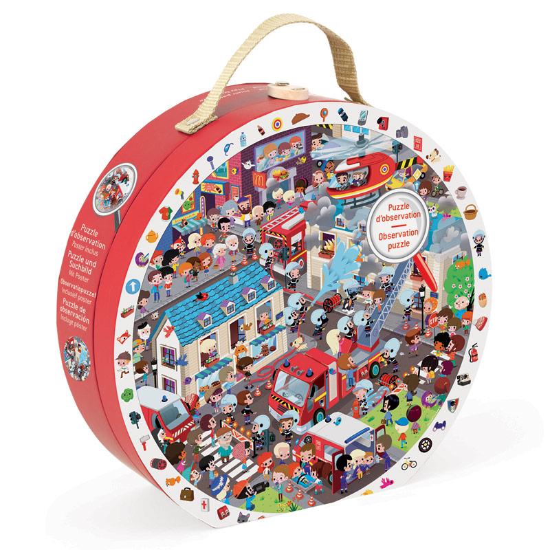 Puzzle de Observación los Bomberos: 208 piezas