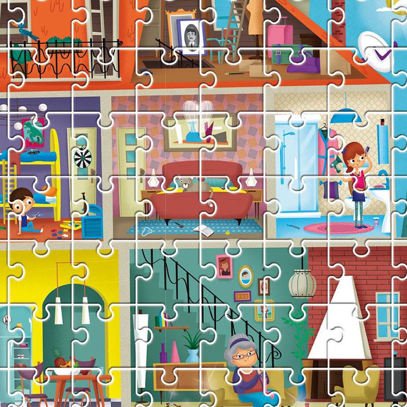 Puzzle Detective: Mi Casa