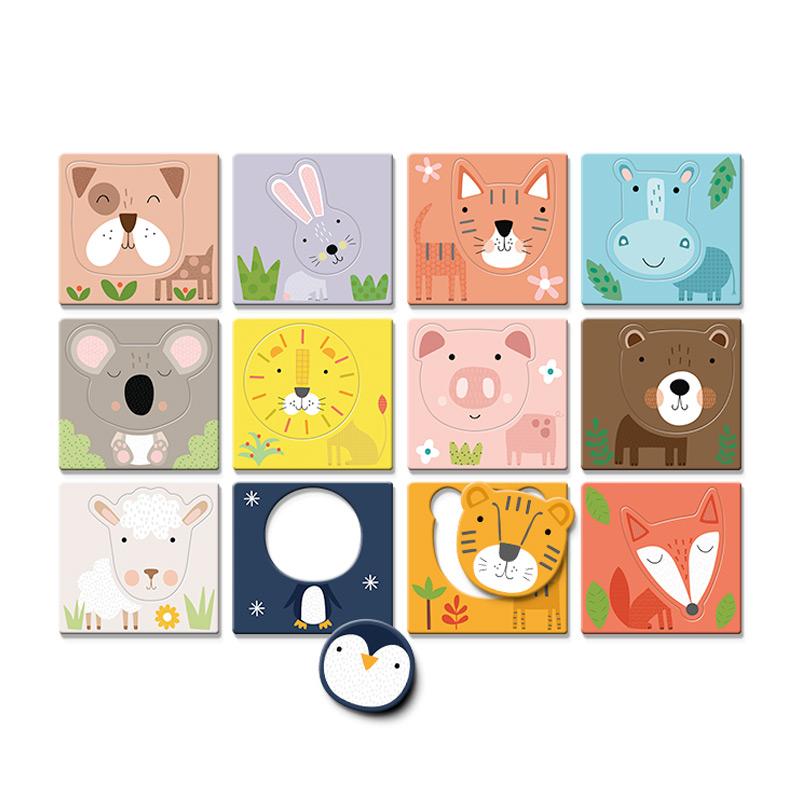 Puzzle Dudù Caritas de Animales