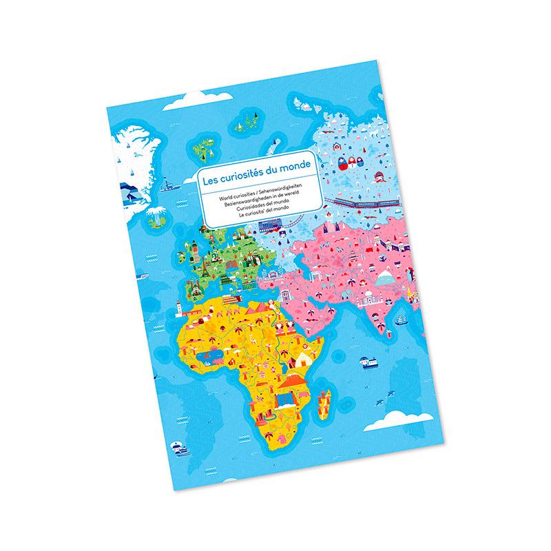 Puzzle Educativo: Curiosidades del Mundo