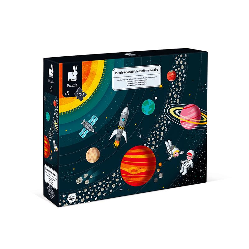 Puzzle Educativo Sistema Solar