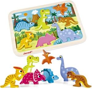 Puzzle Encajable Dinosaurios