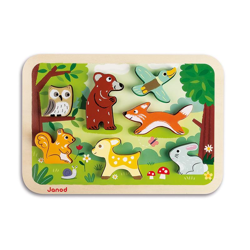 Puzzle Encajable El Bosque