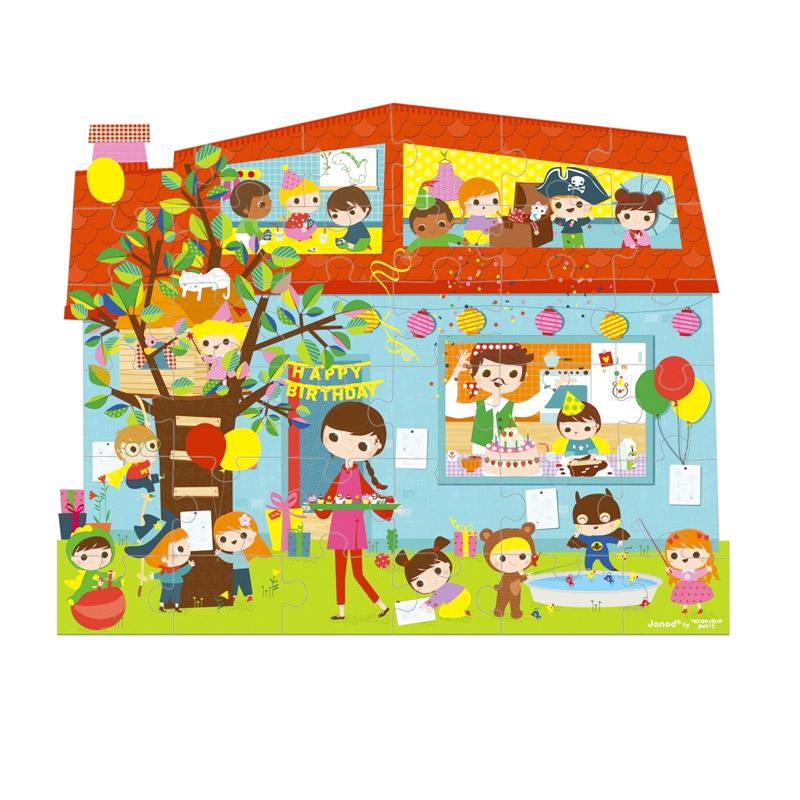 Puzzle Fiesta de Cumpleaños: 36 piezas