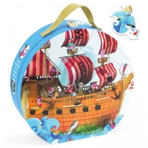 Puzzle Gigante Barco Pirata