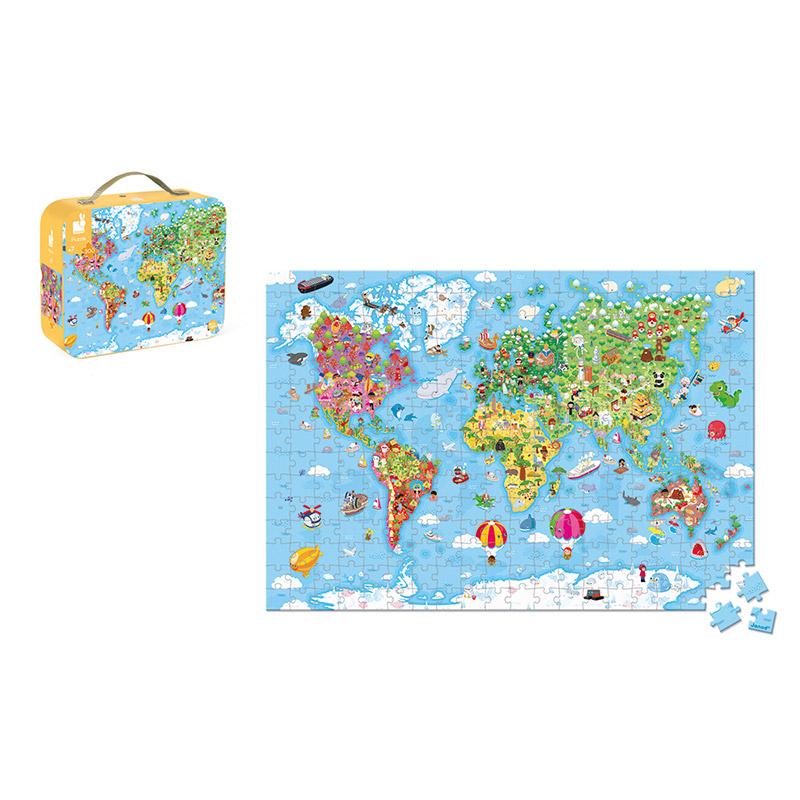 Puzzle Gigante Mapa del Mundo: 300 piezas
