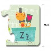 Puzzle Gigante Tren Alfabeto: 27 piezas