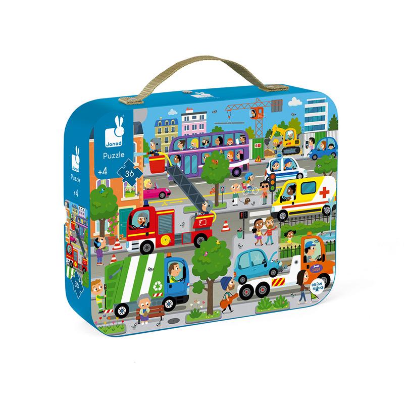 Puzzle la Ciudad: 36 piezas