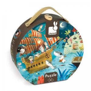 Puzzle Los Piratas: 36 piezas