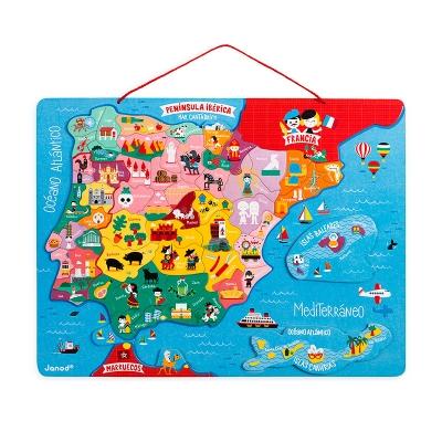 Puzzle Magnético de España