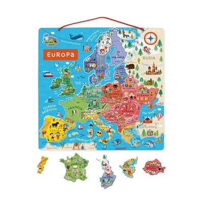 Puzzle Magnético Europa