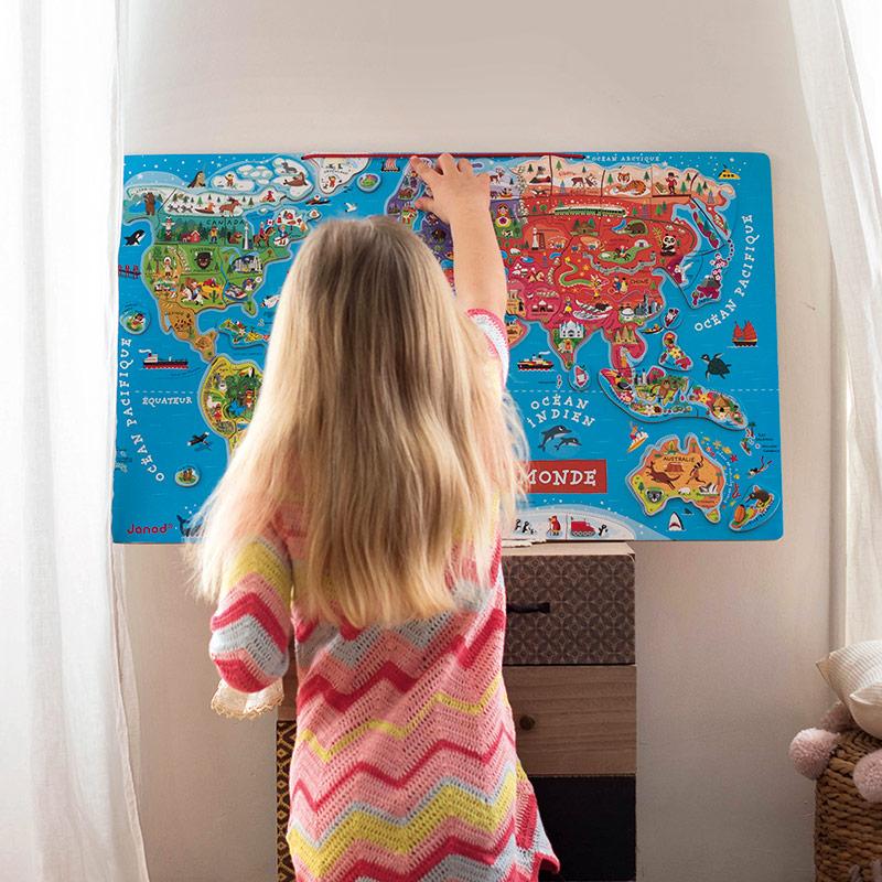 Puzzle Magnético Mapamundi