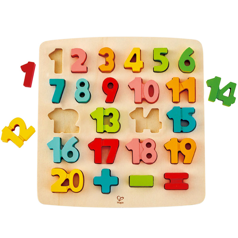 Puzzle Números y Matemáticas