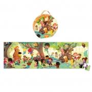 Puzzle Panorámico Día en el Bosque: 100 piezas