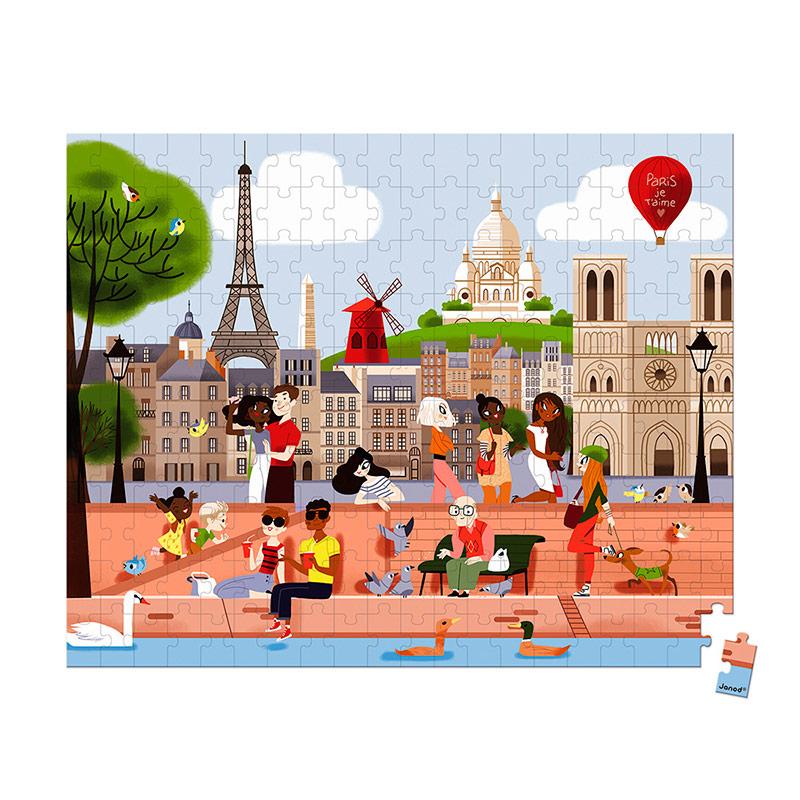 Puzzle París: 200 piezas