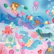 Puzzle Sirenas: 24 piezas